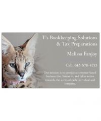 T's Bookkeeping Solutions & Tax Preparations