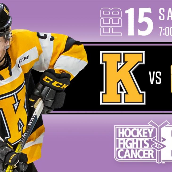 #HockeyFightsCancer Kingston Frontenacs